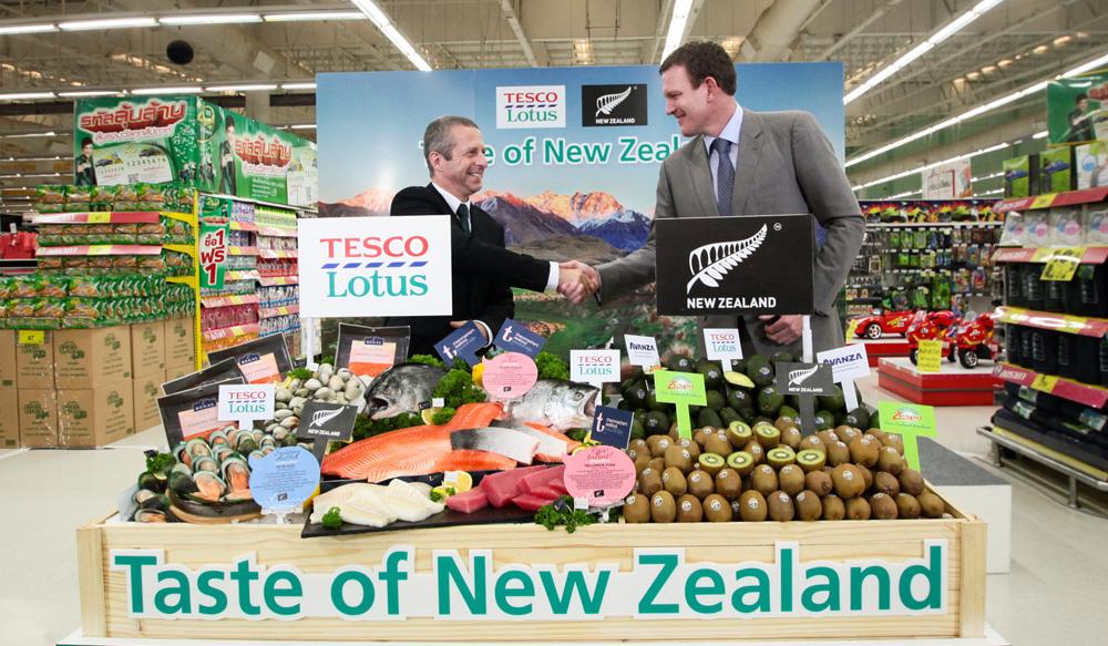 Tast of New Zealand @Tesco Lotus สุขุมวิท 50