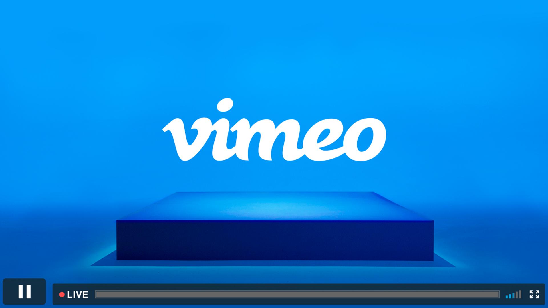 Vimeo เปิดให้บริการไลฟ์สตรีมมิ่ง